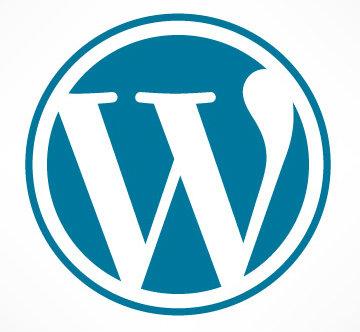Wordpress Blue Logo 360x332